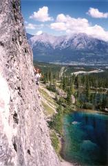 Chamonix French Alps mountain climber.