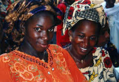 Participants in the Global Fund for Women's forum Guinea