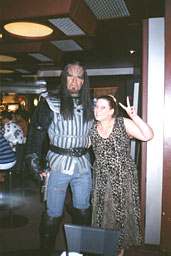 Brook making friends with the Klingons