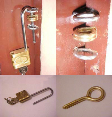How to install a door lock