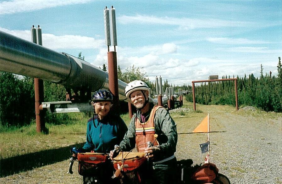 Alaska bicycle tour pictorial Richard Adams 02