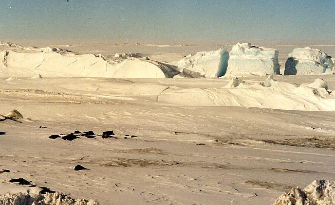Antarctica pictorial 06 pressure ridges