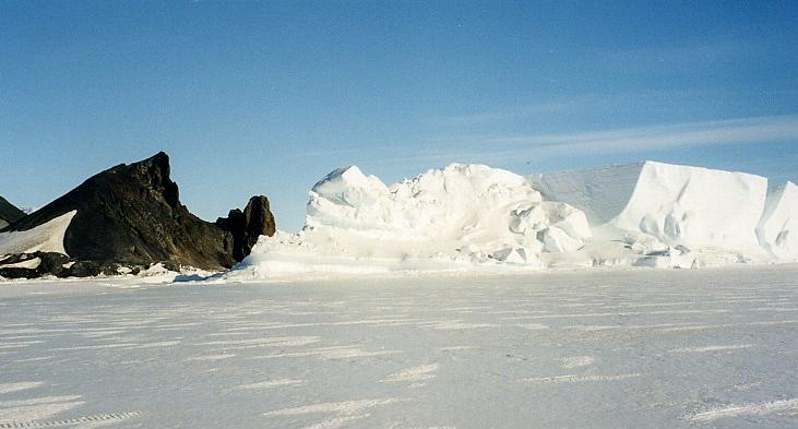 Antarctica pictorial 07 scenic shot of iceberg