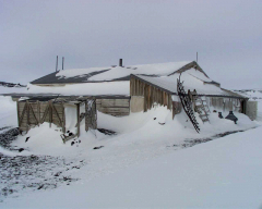 Robert Scotts hut Cape Evans Antarctic