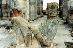 A small picture of Chac Mool