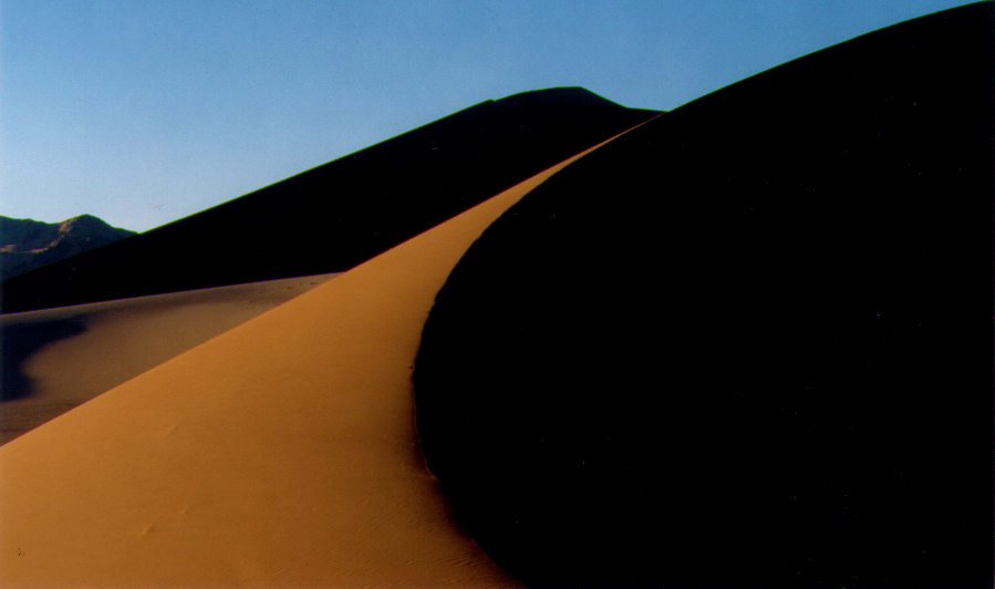 The Dunes of Central Namibia.