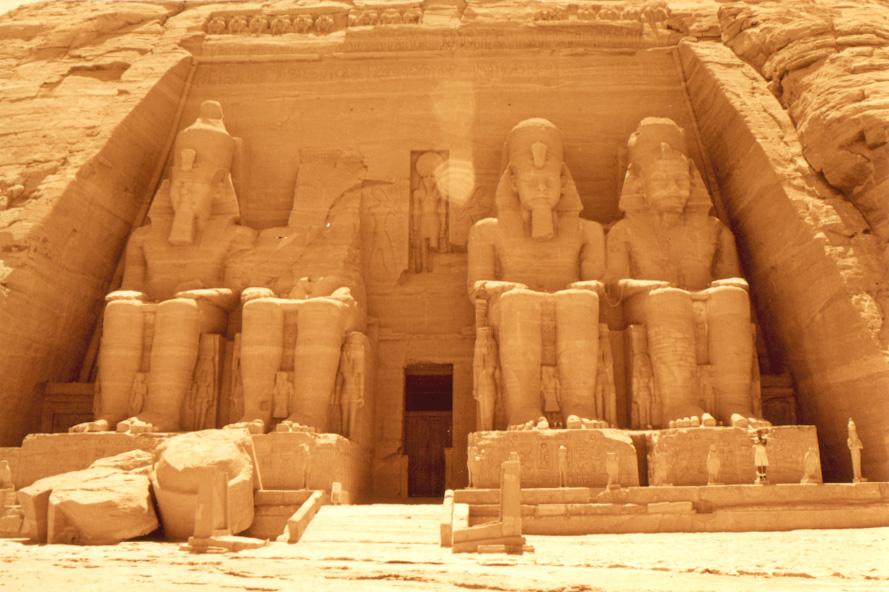 Temple of King Ramses II in Abu Simbel