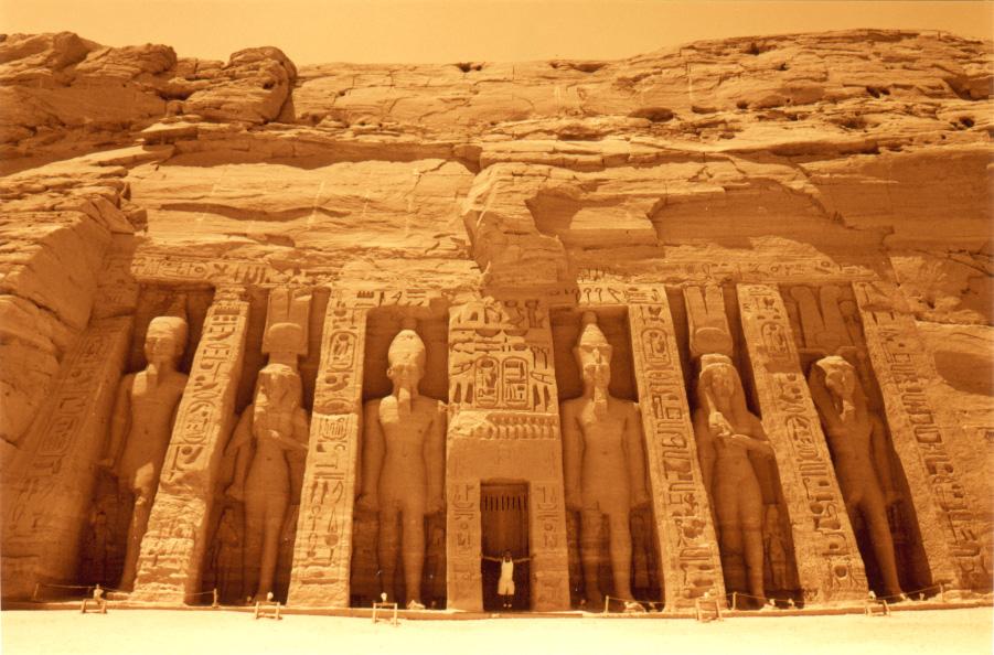 Facade of the Temple of Nefertari