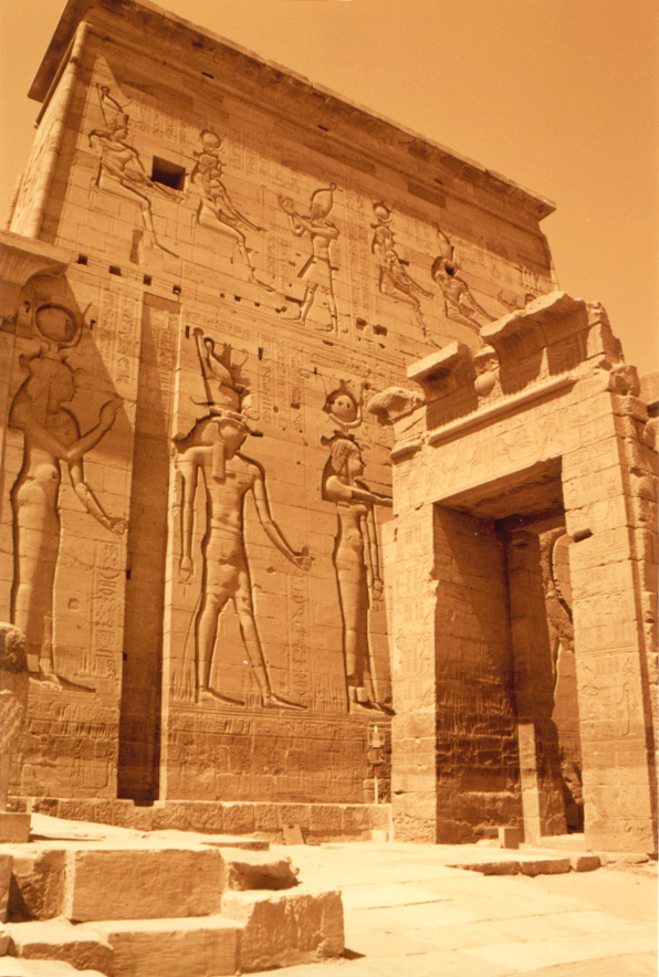Gate at the Temple of Horus at Edfu