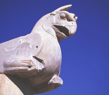 Griffin-headed capital, Parsa (Persepolis).