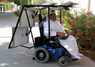 Haidar Taleb to Travel 200 Miles in Solar-Powered Wheelchair
