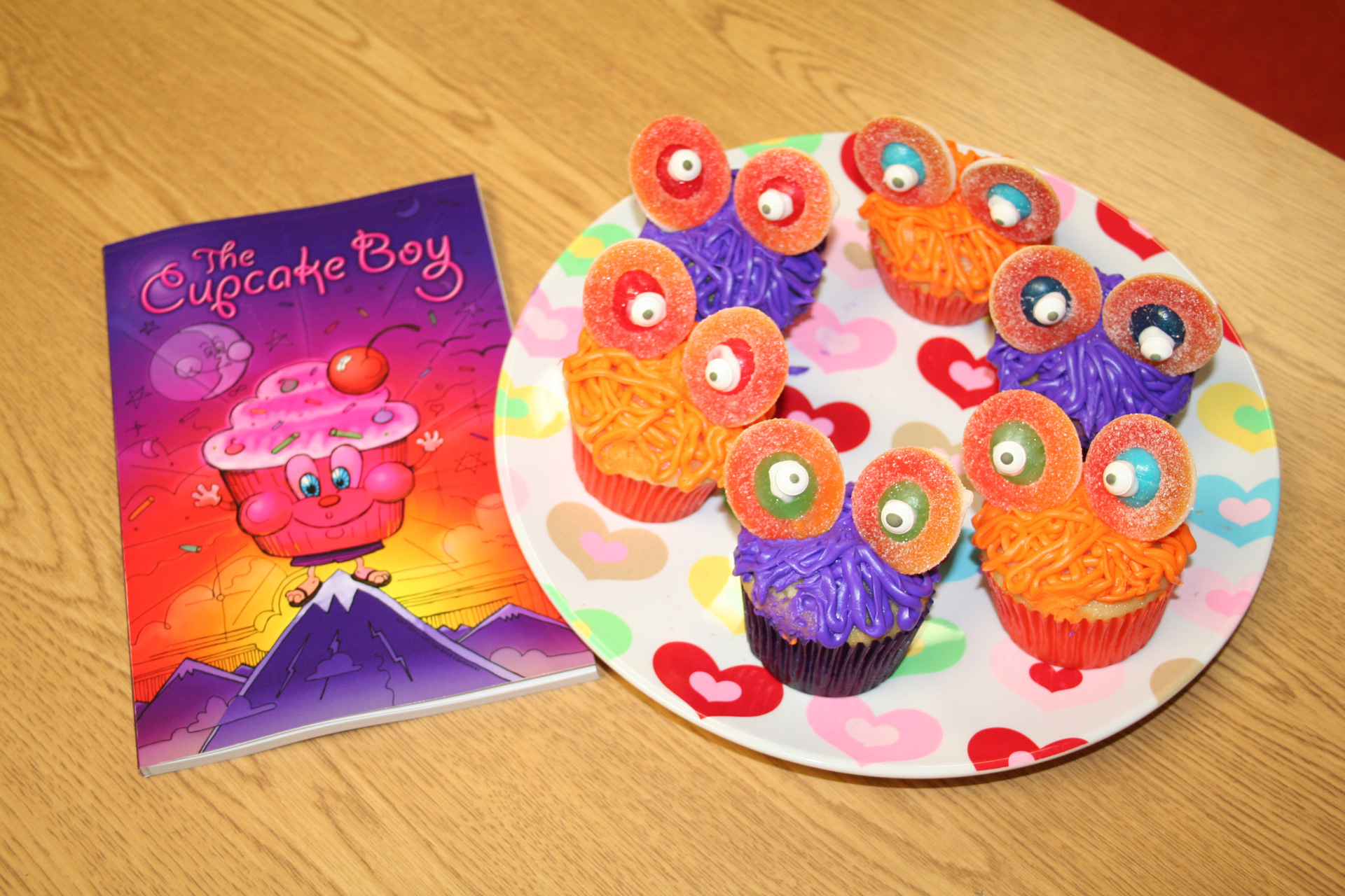 School class photo for The Cupcake Boy with Amy Belle Elementary