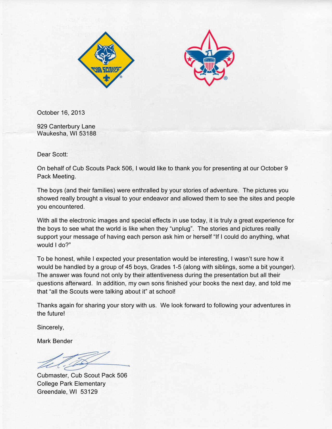 letter-of-commendation-cubscouts Eagle Scout Project Donation Letter Template on court honor, congratulation cards, court honor invitation, recommendation letter, ceremony invitation, emblem printable, court honor program, project plaque, event program,