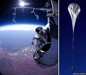 Felix Baumgartner skydiver