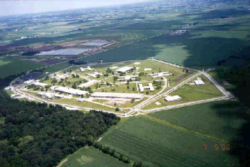 Fox Lake Correctional Institute aerial view