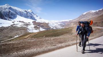 Tom Allen and Leon McCarron walk heroically again through the mountains of Iran