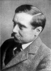 H.G. Wells author of The Wheels of Chance: A Bicycling Idyll by H.G. Wells