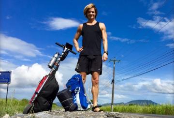 Nicolai Bangsgaard Kick Scooter Adventure