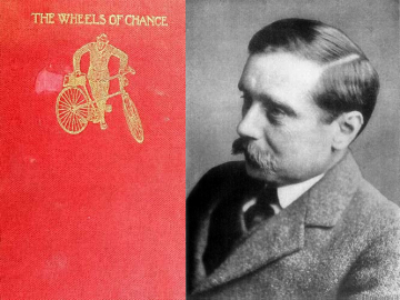 The Wheels of Chance; A Bicycling Idyll By H.G. Wells 1896. With a portrait of the author.