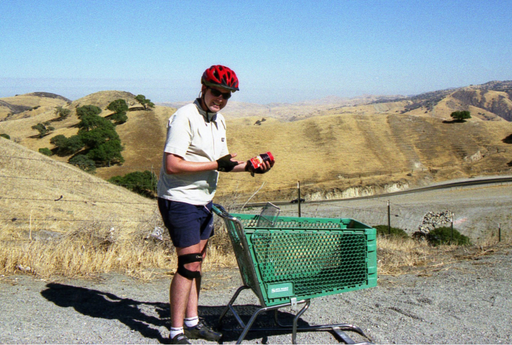 Scott Stoll. Day 1. Picture 2. Bicycle ride around the world.