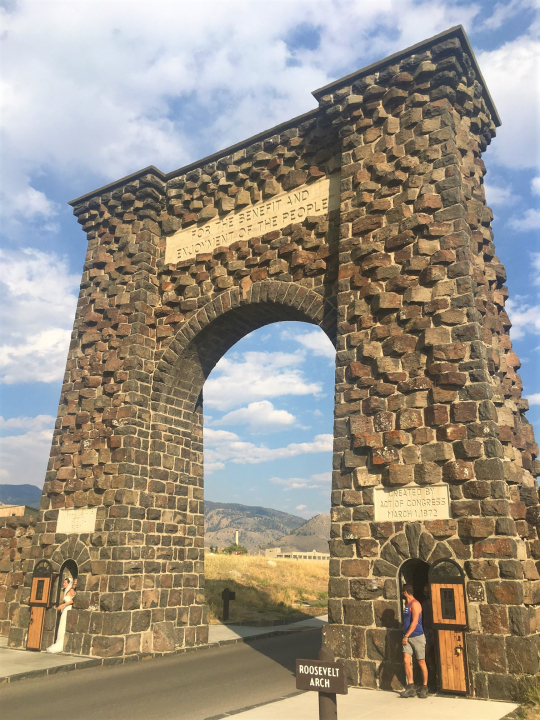 Roosevelt Arch, Gardiner, MT