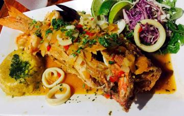 Puerto Rico Fish Dinner