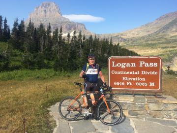 Tom Lais Bicycle Tour Logan Pass