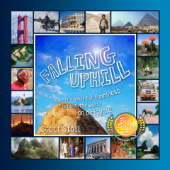 Falling Uphill audio book cover art
