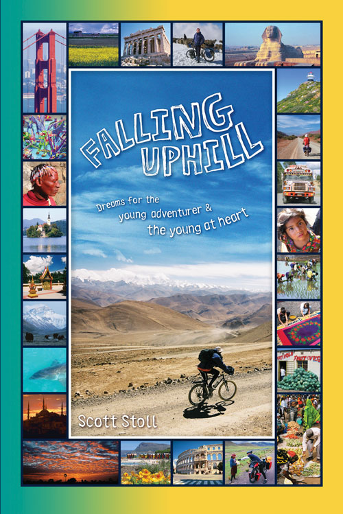 Falling Uphill Young Adult Edition book design