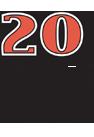 The Argonauts 20th Anniversary Logo