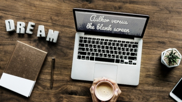 Author versus the blank screen. How to write an online article for the internet.