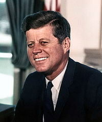John F. Kennedy bicycle quote