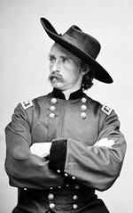 Lieutenant Colonel George Armstrong Custer.