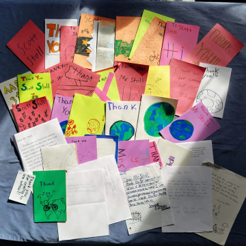 Thank you letters Springer School
