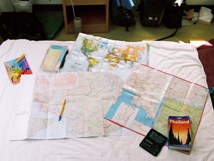 Planning bikepacking trip around the world