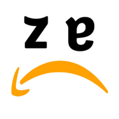 Sad face Amazon logo