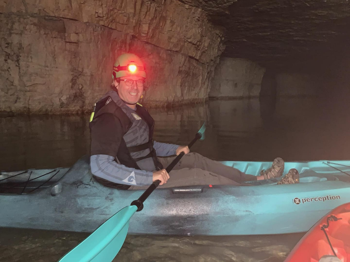 Underground kayaking Kentucky