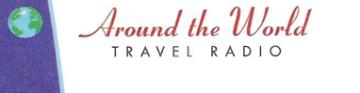 around the world travel radio logo