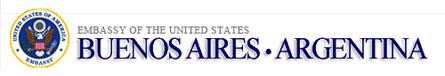 US Embassy of Argentina logo