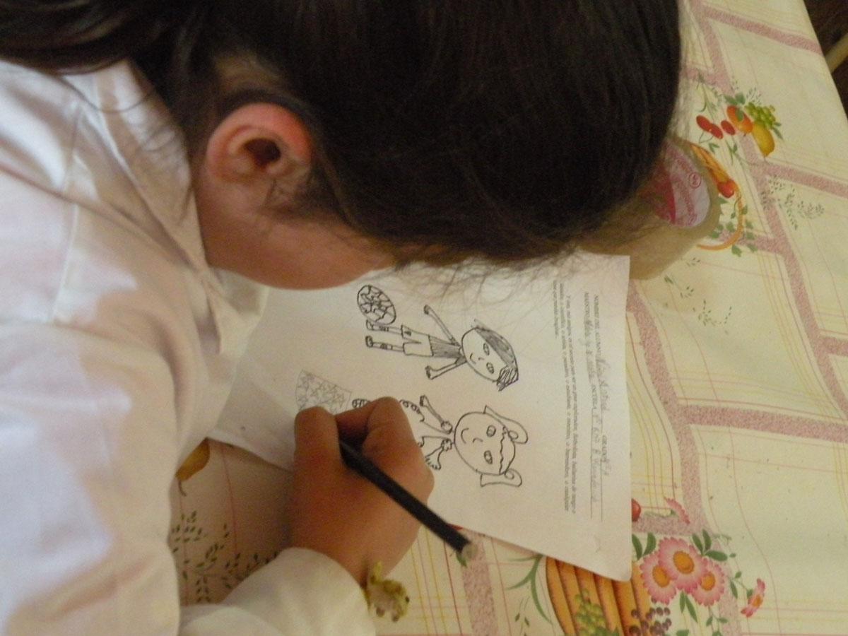 607 Bernardino Rivadavia student illustrating