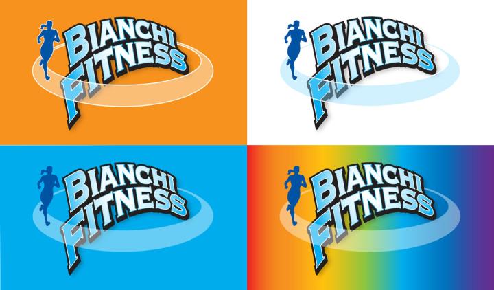Bianchi Fitness logo variations