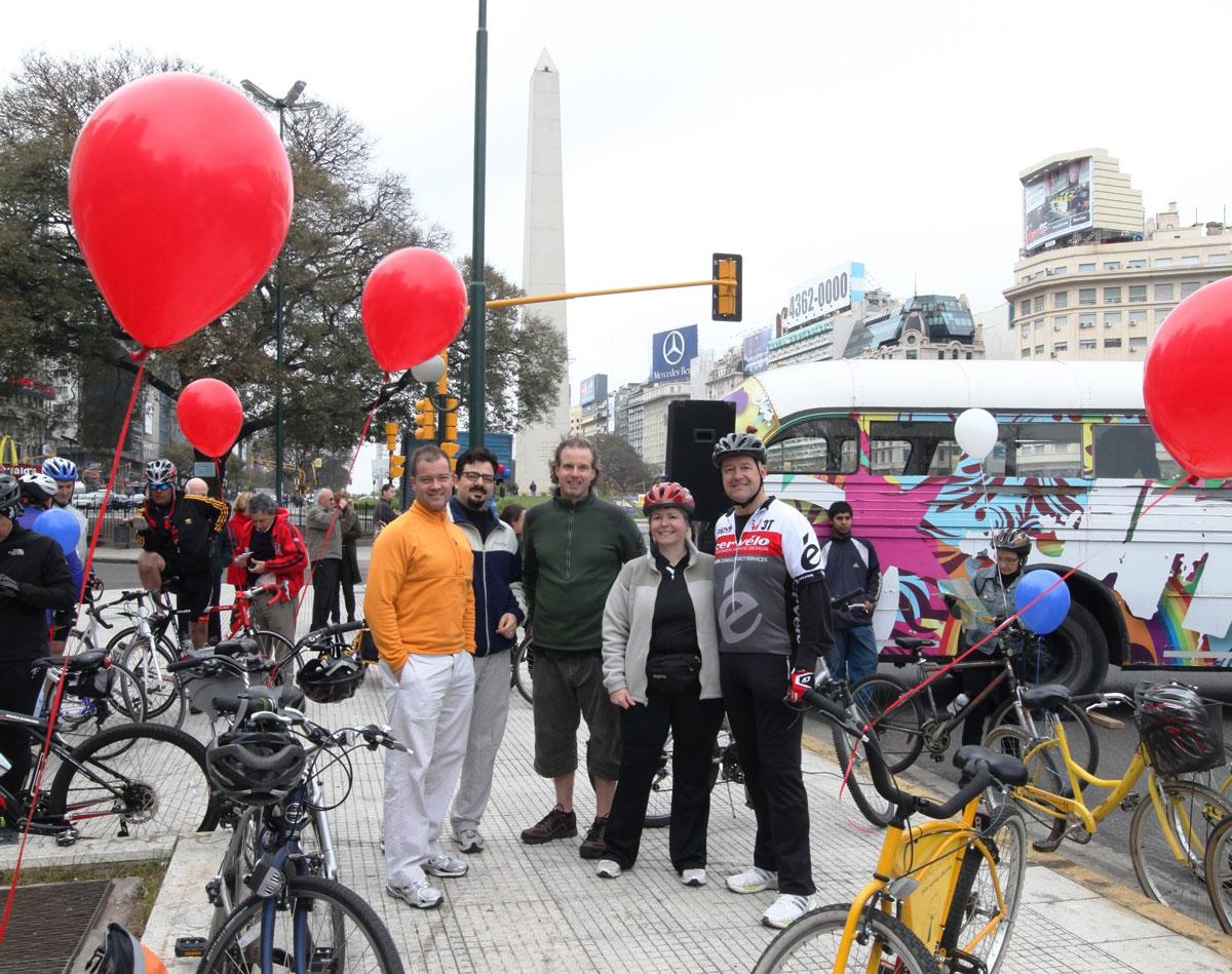 Bicicleteada de Buenos Aires mejor en bici
