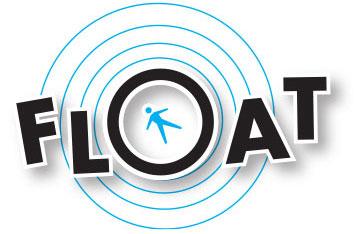 Float logo decorative