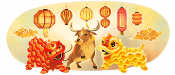 Google Doodle Chinese Lunar New Year 2021