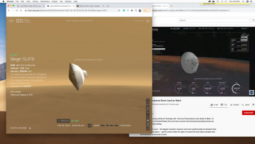 Perseverance rover landing live on Mars