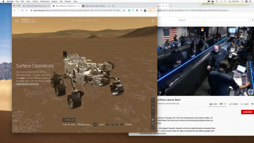 Perseverance rover landing live on Mars touchdown