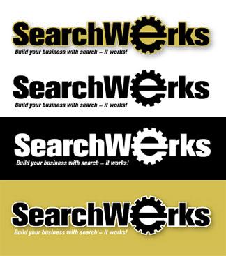 SearchWerks logo variations