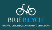 blue bicycle generic logo