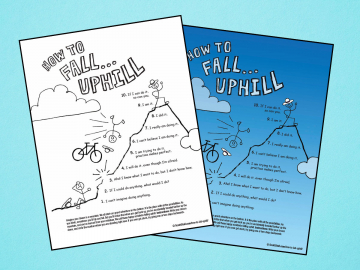 How to fall uphill worksheets