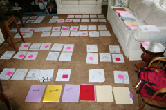 Sorting the illustrations